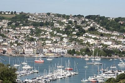Photo for NAVY BLUE - character cottage with stunning views over Dartmouth & Naval College