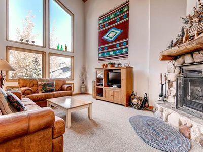 Photo for Boulder Creek #1116: 3 BR / 3 BA townhome in Park City, Sleeps 9