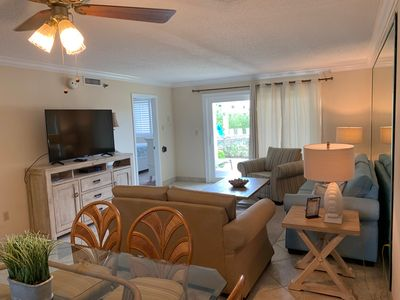 Photo for Unit 113 - Recent Renovations; easy pool access; FREE beach service