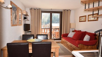 Photo for Apartment d'Aiguille - duplex apartment central Chamonix with balcony