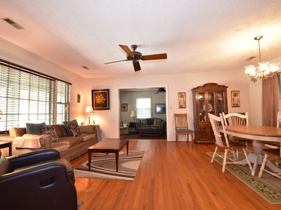 Photo for Island Hideout. Spacious. 2 living rooms. Entertainment patio