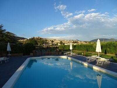 Photo for Spello apartment Salvia in Holiday House with park and swimming pool