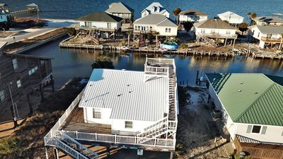 Photo for Sea Spot - Waterfront 3 Bedrm with Boat Dock, Rooftop Crow's Nest and great Views!