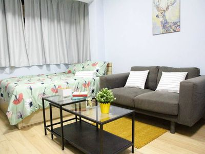 Photo for Heart of CWB spacious studio 1mins to time square