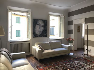 Photo for Spacious Apartment in Lucca's Historic City Centre