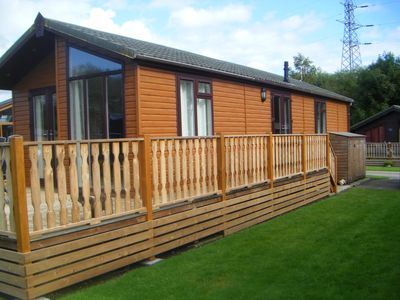 Photo for South Lakeland  2 bedroom classic holiday lodge with superb five star amenities