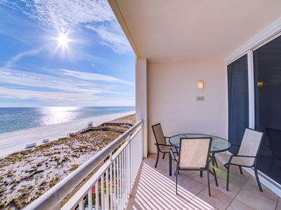 Photo for All Inclusive Aug/Sept Special! Stay 3 nts for only $899! Gulf Front Condo!