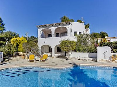 Photo for Villa Playa El Portet is situated in the Portet area of Moraira within walking distance of the sandy