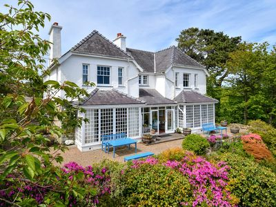 Photo for Trefaes is a prestigious detached property set in large impressive grounds at the entrance to the re