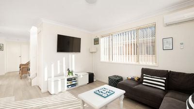 Photo for Newly renovated beach holiday home perfect for the family and so close to the beach!