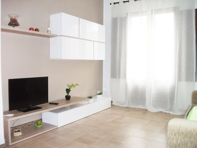 Photo for Immaculate apartment only 150 mt. from the beach - free WI-FI