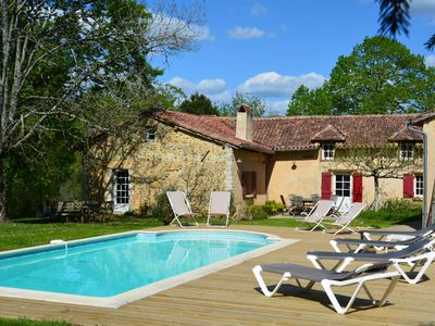 Photo for Charm and comfort in an authentic Périgord farm completely renovated