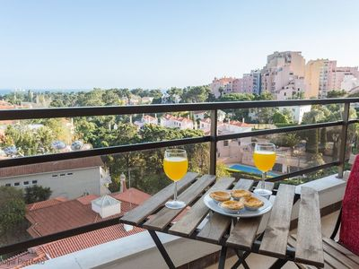 Photo for Luxury 2 BR apartment w/pool, sleeps 4 - Panoramic view of Cascais