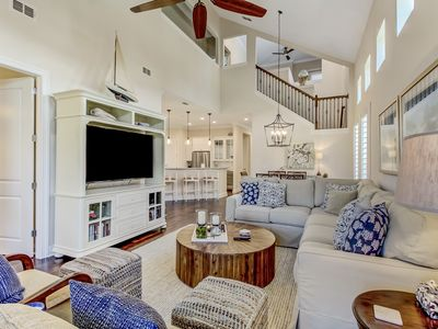 Photo for BRAND NEW LISTING-Luxury Summerwoods Townhome- Short Walk to the Beach