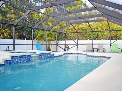Photo for Well Appointed Home with Heated Pool Just Off Siesta Key Close Gulf Gate Area