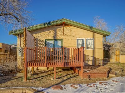 Photo for Historic Adobe Bungalow, 2bd/2ba, walk to UNM