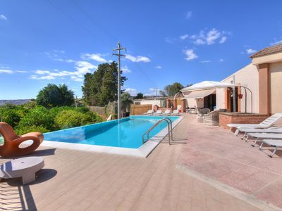 Photo for Nestled on an estate of over 12 acres there is this villa with a stunning pool.