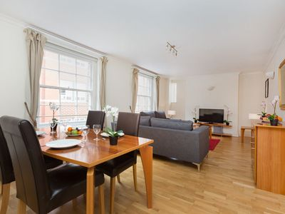 Photo for BEAUTIFUL 2BR FLAT IN THE HEART OF LONDON'S BARBICAN DISTRICT!