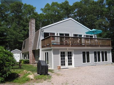 Photo for Large 5 Bedroom - 1 Mile to Green Hill Beach/Private Beach