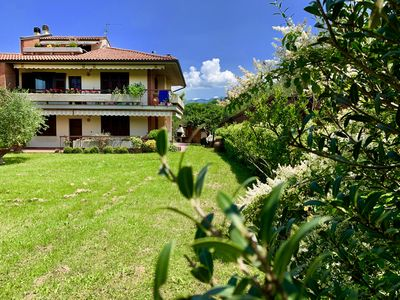 Photo for Lovely semi-detached house with huge garden located 20 min. to Florence city