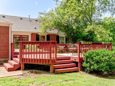 Photo for Quiet 3BR Bungalow w/ Beautiful Backyard & Fire Pit - Next to Park