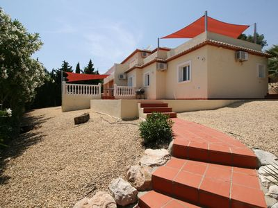 Photo for Stunning 6 Bedroom Detached Villa In Moraira, With Private Pool. Sleeps 12-14