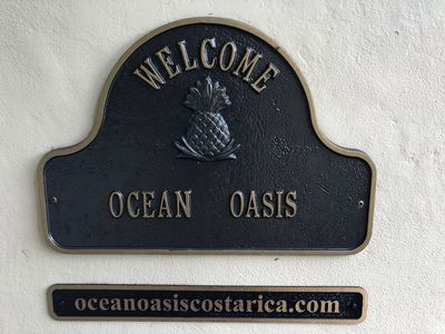 You've arrived at Ocean Oasis Costa Rica