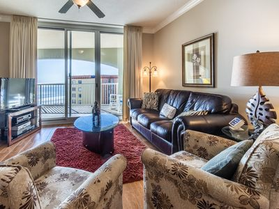 Photo for BEAUTIFUL OVERSIZED BALCONIES with the BEST VIEW of the FLORIDA'S SUNSETS!
