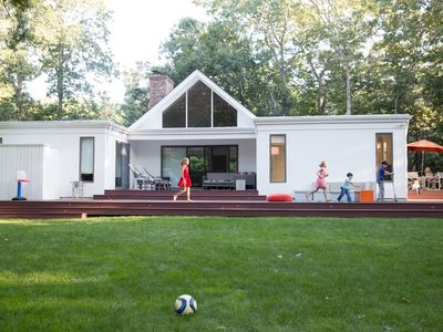 Photo for Beautifully Renovated Contemporary - by the Water, NW Woods, East Hampton