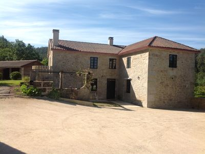 Photo for Casa Roxa, country house at 12 kms. of the Galician coast