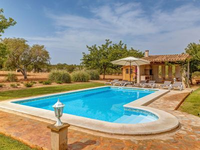 Photo for Air-Conditioned Country House with Pool, Garden, Sun Terrace & Wi-Fi; Parking Available