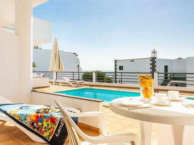 Photo for Two ground floor apartments w/ shared pool, modern amenities & free WiFi!