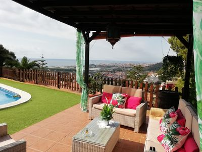 Photo for OFFER LOWERED PRICE, SANTA SUSANNA VILLA WITH A / C, SWIMMING POOL, BARBECUE, WI