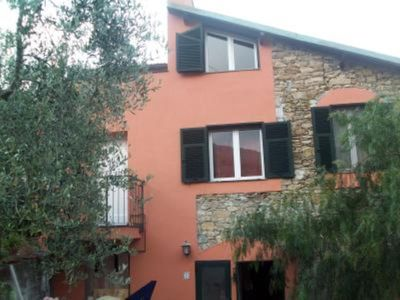 Photo for Cozy studio with large terrace overlooking the countryside a few kilometers from the sea. Typical residence