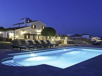 Photo for Farmhouse, natural surroundings, private pool, A/C, 3kmts from Son Bou beach