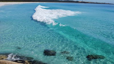 Our beautiful Bay of Fires Beach
