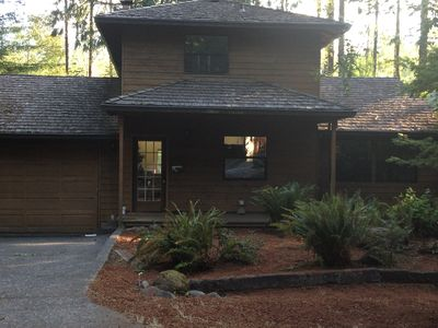 Photo for Riverfront Cabin w/Wifi,  Home Theater -Dog Friendly!