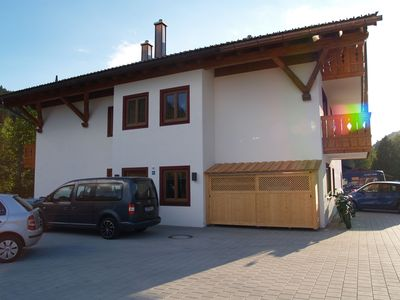 Photo for Beautiful Holiday Apartment Geroldsee with Mountain View, Wi-Fi & Balcony; Parking Available