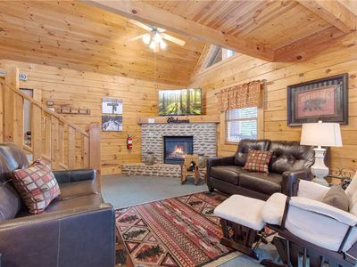 Photo for Hibernation Station, 3 Bedrooms, Pool Access, Hot Tub, WiFi, Sleeps 10