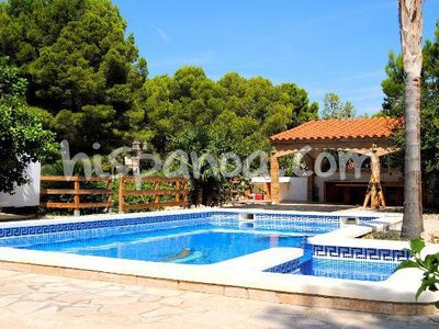 Photo for Beautiful villa with private pool in Ametlla de Mar for 8 people on the Costa Dorada