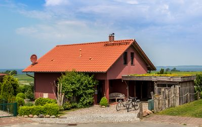 """Photo for """"Dat Hus Roote"""" -Traumhaftes holiday home with wonderful Ostseeblick"""