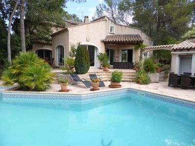 Photo for Splendid luxury villa pool 16 people 5 ch. 5 sdb Montpellier / me
