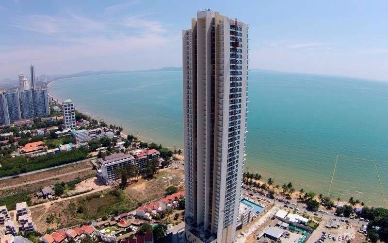 Beach front jomtien beach pattaya na kluea - Appartement de vacances pattaya major ...