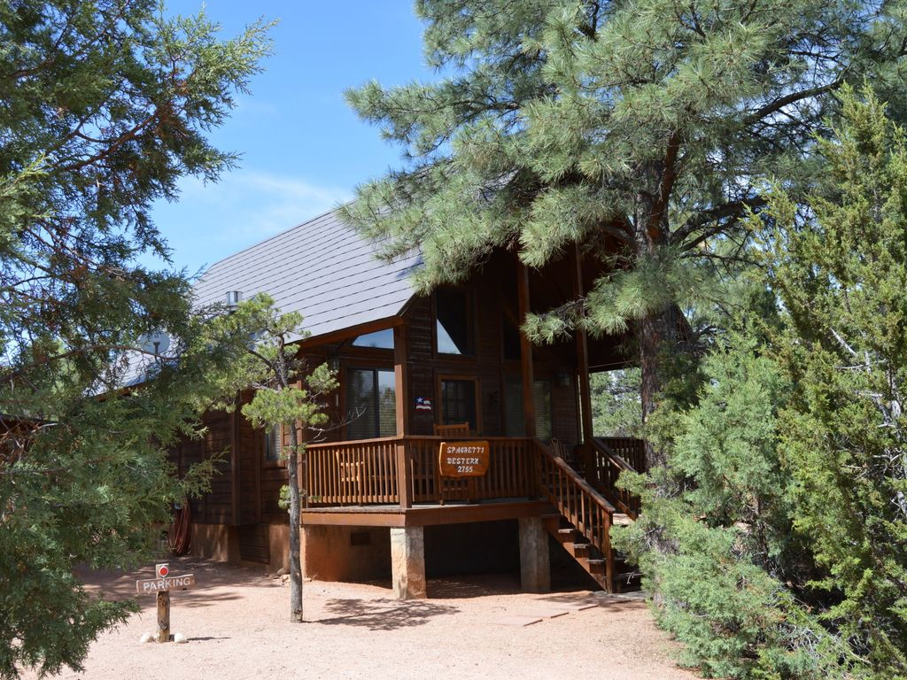 Rim country cabin in tall pines overgaard arizona for Outrageous cabins country pines