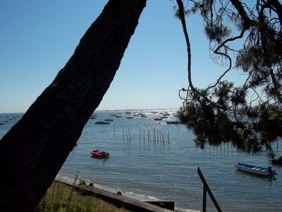 Photo for Large villa at the water's edge on the Cap Ferret peninsula