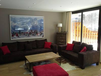 Photo for (Praloup 1600) Magnificent south 100m² apartment with 30m² terrace
