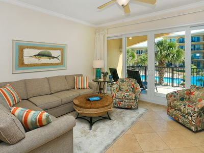 Photo for Adagio G-202 - 3 Bedroom Poolside Unit