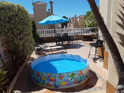 Photo for Las Filapinas, nr La Zenia, sea views, swimming pool, large patio, sun bathing
