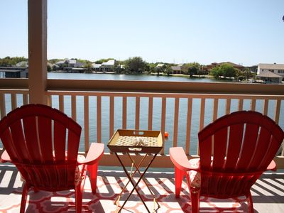 Photo for Beautiful Gated Waterfront Condo in Heart of Horseshoe Bay,  Boat Docks and wifi