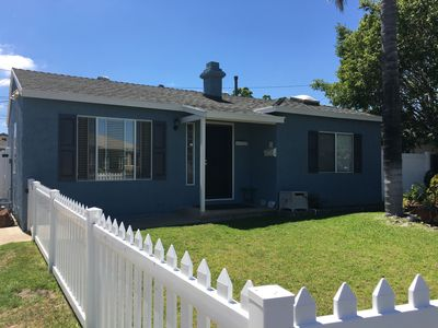 Photo for 2 bedroom, 2 bath cozy, clean house w/ large backyard very conveniently located
